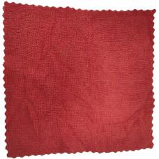 Салфетка из микрофибры (без упаковки) Ultra, цвет красный, 25х25 см