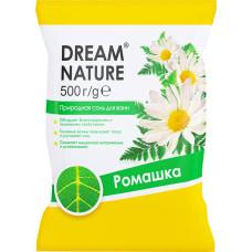 Природная соль для ванн Dream Nature «Ромашка», 500 г