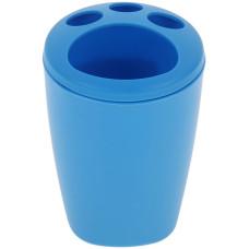 Подставка пластиковая для зубных щеток Aqua, цвет голубая лагуна
