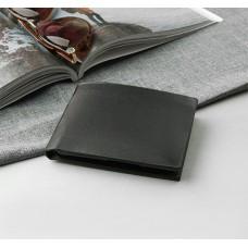 Портмоне мужское Мэтью, 2 отдела, для карт, цвет чёрный, 12х2,5х10 см