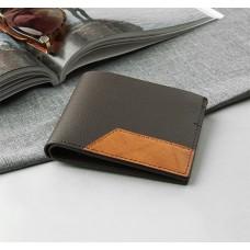 Портмоне мужское Кларк, 2 отдела, для карт, для монет, для сим-карты, цвет коричневый, 11х1х9,5 см