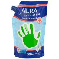Мыло жидкое антибактериальное Aura (Аура) Ромашка, 500 мл