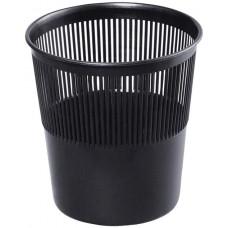 Корзина для бумаг Brauberg (Брауберг) сетчатая, цвет чёрный, 9 л