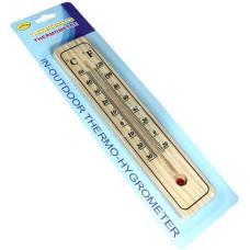 Термометр бамбуковый для улицы и дома