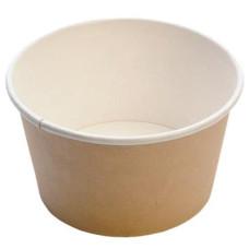 Контейнер Чаша для холодного и горячего, крафт, 500 мл