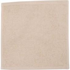 Кухонное полотенце махровое, кремовый-микс, 30х30 см