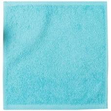Кухонное полотенце махровое, небесный, 30х30 см