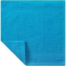 Кухонное полотенце махровое «Экономь и Я», цвет бирюза, 30х30 см