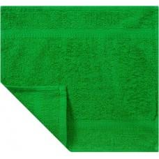 Кухонное полотенце махровое «Экономь и Я», цвет зелёный, 30х30 см