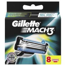 Кассеты для бритья Gillette Mach 3 (8 шт)