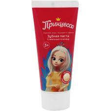 Детская зубная паста Принцесса «Сливочный пломбир», 65 г