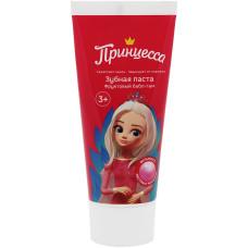 Детская зубная паста Принцесса «Фруктовый бабл-гам», 65 г
