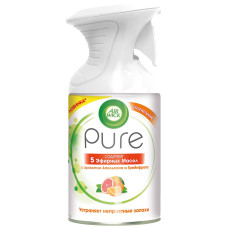 Освежитель воздуха Airwick (Аирвик) Pure с ароматом Апельсина и Грейпфрута, курок, 250 мл