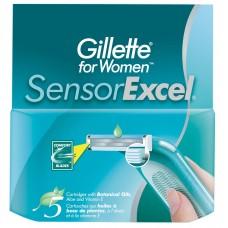 Кассеты для бритья Gillette Sensor Excel женские (5 шт)