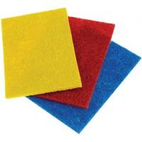 Салфетки абразивные для удаления стойких загрязнений Laima (Лайма), 13х9х0,5 см, комплект 3 шт