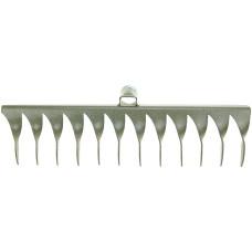 Грабли витые 12-зубые, без черенка, металлическая тулейка 36-40 см, эмаль ГВ-12, д30 мм
