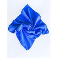 Салфетка из микрофибры (без упаковки), цвет синий, 35х35 см