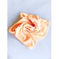 Салфетка из микрофибры (без упаковки), цвет персиковый, 35х35 см