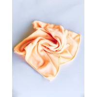 Салфетка из микрофибры (без упаковки), цвет персиковый, 50х80 см