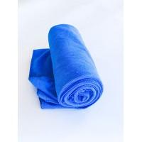 Салфетка из микрофибры (без упаковки), цвет синий, 60х80 см