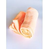 Салфетка из микрофибры (без упаковки), цвет персиковый, 70х80 см