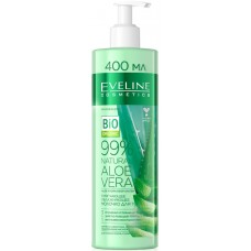 Смягчающее-увлажняющее молочко для тела (Эвелин) Aloe Vera 3 в 1, 400 мл