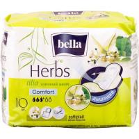 Прокладки Bella (Белла) Herbs Comfort «Липовый цвет», 3+ капли, 10 шт