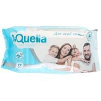 Салфетки влажные для всей семьи Aquella с Антибактериальным эффектом, 72 шт