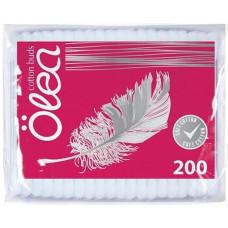 Ватные палочки Olea, в пакете, 200 шт