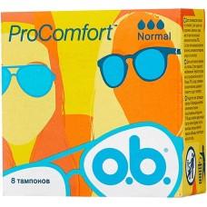Тампоны O.b. (Оби) Procomfort Normal, 3 капли, 8 шт