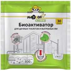 Биоактиватор Nadzor (Надзор) для дачных туалетов и септиков, 30 г