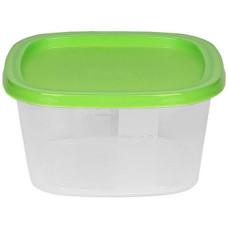 Контейнер пластиковый пищевой для СВЧ и заморозки, цвета микс, 0,5 л