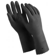 Перчатки латексные Manipula КЩС-1, двухслойные, цвет чёрный, размер 8 M, L-U-03/CG-942