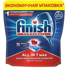 Таблетки для посудомоечных машин Calgonit Finish (Калгонит Финиш) 10 в 1, 75 шт