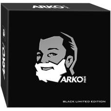 Подарочный набор для мужчин Arko (Арко) Black: гель для бритья 200 мл + гель для душа 260 мл