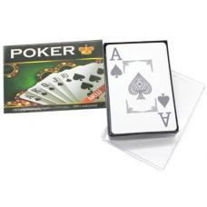 Карты для покера, пластиковые, 54 шт