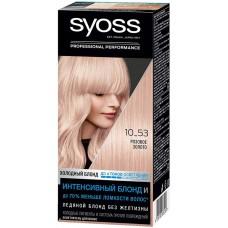 Краска-осветлитель для волос Syoss (Сьес), тон 10-53 - Розовое Золото