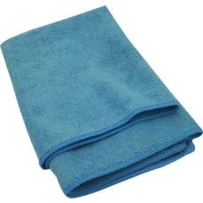 Салфетка из микрофибры (без упаковки) Стандарт, цвет голубой, 50х60 см