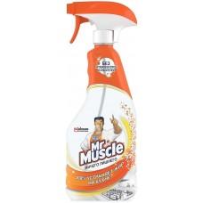 Моющее средство для кухни Mr.Muscle (Мистер Мускул) Ничего Лишнего, курок, 500 мл