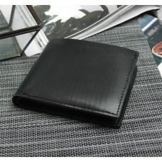 Портмоне мужское Давид, 2 отдела, для карт, цвет чёрный, 12х1,5х9,5 см