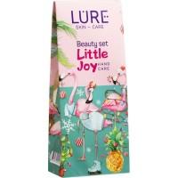 Подарочный набор Lure (Лур) Little Joy: Bio-крем для рук питательный с маслом ши и D-пантенолом, 2 шт по 40 мл