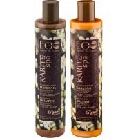 Подарочный набор Organic Collection Экспресс Восстановление: шампунь для жирных и сухих волос 350 мл + бальзам для жирных и сухих волос 350 мл