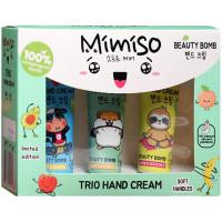 Подарочный набор Mimiso Trio Hand Cream: крем для рук 3 вида по 30 мл