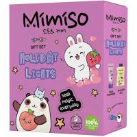 Подарочный набор Mimiso Holiday Ligths: гель для душа 250 мл + молочко-шиммер 100 мл