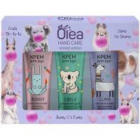 Подарочный набор Olea Hand Care Limited Edition: крем для рук 3 вида по 30 мл