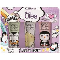 Подарочный набор Olea Hand Care Let it Soft: крем для рук 3 вида по 30 мл
