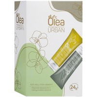 Подарочный набор Olea Urban Anti-Pollution Effect: крем для рук Тройное увлажнение 75 мл + крем для ног восстанавливающий 75 мл