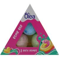 Подарочный набор Olea Bomb Bar: бомбочки для ванны 3 шт