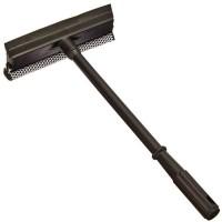 Окномойка, короткая ручка, цвет чёрный, 50х25 см