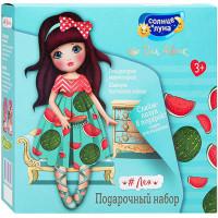Подарочный набор для девочек Солнце и Луна Яркие Моменты: гель для душа Мармеладный 200 мл + шампунь Блестящие локоны 200 мл